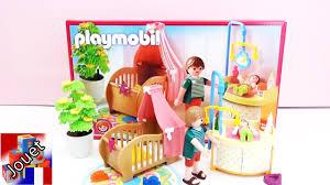 playmobil chambre bébé construction et démo de la chambre enchantée du bébé playmobil