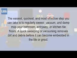 can you vacuum tile floor
