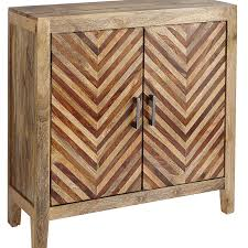 Pier One Imports Mirrored Chest kadhi chevron mango wood cabinet pier 1 imports