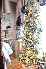 Narrow White Christmas Tree Unique Ideas On Rustic Feature House Tour Skinny