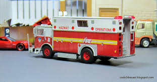 100 Model Fire Trucks My Code 3 Diecast Truck Collection