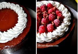 decoration patisserie en chocolat gâteau au chocolat framboises merci recettes by hanane