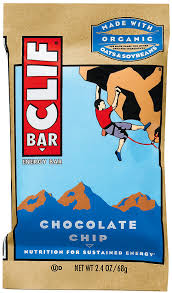Chocolate Chip Clif Bar Case