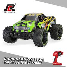 RUICHUAGN QY1881A 1/8 2.4GHz 2WD 2CH 20km/h Electric RTR Off-Road RC ...