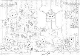Coloriage De Noël à Imprimer Le Bonhomme De Neige
