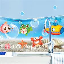 Finding Nemo Bath Set by New Finding Nemo Fish Wall Stickers Bathroom 3d Cartoon Bathing