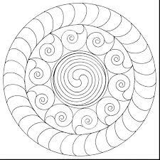 Free Printable Mandala Designs To Color Incredible Simple Mandalas Print Coloring Pages Animal Celtic Sheets