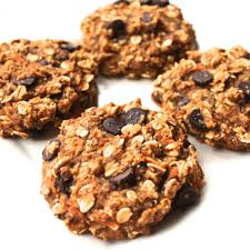 Healthy Chocolate Chip Carrot Cake Cookies