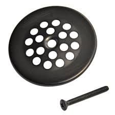 Home Depot Bar Sink Strainer by Danco 2 7 8 In Bath Grid Strainer With In Oil Rubbed Bronze