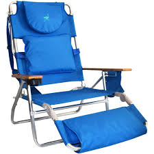 Camping Chair With Footrest Australia by Padded Beach Chairs Padded Folding Lawn Chair