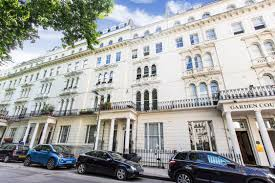 100 Kensington Gardens Square Portico Studio Flat Recently Let In Notting Hill