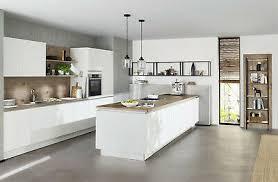 nolte küche plus weiß softmatt antifingerprint eur 6 845