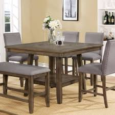 Dining Room Bistro Counter Height Sets Tall Table Chairs And ...