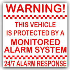 1 X Red On White Stickers-87mm-Vehicle Protected By A Monitored ... Universal Auto Car Power Window Roll Up Closer For Four Doors Panic Alarm System Wiring Diagram Save Perfect Vehicle Aplusbuy 2way Lcd Security Remote Engine Start Fm Systems Audio Video Sri Lanka Q35001122 Scorpion Vehicle Alarm System Mercman Mercedesbenz Parts Truck Heavy Machinery Security Fuel Tank Youtube Freezer Monitoring Refrigerated Gprs Gsm Sms Gps Tracker Tk103a Tracking Device Our Buying Guide With The Best Reviews Of 2017 Top Rated Colors Trusted Diagrams