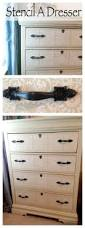 Americana Decor Creme Wax by How To Stencil A Dresser With Chalk Paint Major Hoff Takes A Wife