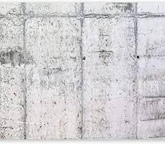 murando fototapete betonoptik 350x256 cm vlies tapeten wandtapete moderne wanddeko design wand dekoration wohnzimmer schlafzimmer büro flur grau