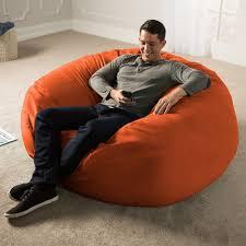 Details About Jaxx 5 Ft. Giant Bean Bag Chair