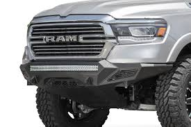 100 Truck Front Bumpers 2019 RAM 1500 Stealth Fighter Bumper With Sensors ADD Offroad
