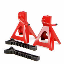 100 Truck Jack Stands Pair Of 2 Ton Work Shop Garage Car High Lift Tool