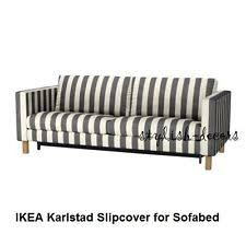 Karlstad Sofa Bed Cover Grey by Karlstad Sofa Cover Slipcovers Ebay