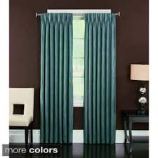 Thermal Lined Curtains Ireland by Pinch Pleat Curtains U0026 Drapes For Less Overstock Com