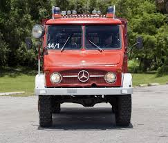 100 Power Wheels Fire Truck 1968 MercedesBenz Unimog 404 Mountain Rescue