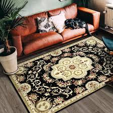 amerikanischen stil große bereich teppiche hohe qualität abstrakte blume teppich persischen stil wohnzimmer schlafzimmer küche nicht slip matte