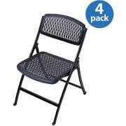 Mity Lite Folding Chair Sams by Flex One Folding Chair From Mity Lite Black Walmart Com