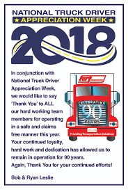 2018 National Driver Appreciation Week - Fort Transportation Celebrating Drivers During Truck Driver Appreciation Week Sept 9 National Eagle Cadian On Twitter Its Enterprises Celebrates Shell Rotella Nz Trucking Tmaf To Launch Campaign Imagine Youtube Ats Game American Service One Transportation