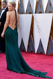 rachel mcadams dark green long train celebrity evening dress 2016