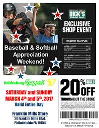 2017 Dick's Sporting Goods Exclusive Shop Event - 3/4 & 3/5 ... Express Coupon Codes And Coupons Blog Dicks Sporting Goods Home Facebook 31 Hacks Thatll Shock You The Krazy Lady Cyber Monday 2018 Dicks Ad Scan 2 Spoeting Button Firefox Archives Free Stuff Times Fdicks Sporting Goods Coupons Sf Opera Coupon Code How To Use A Promo Code Reability Study Which Is The Best Site 3 Aug 2019 Honey Basesoftball Lineup Cards