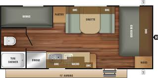 Travel Trailer Floor Plans With Bunk Beds by Bunkhouses Starcraft Rv