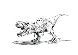 Jurassic World Velociraptor Coloring Pages 2