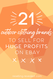 100 Outdoor Brands 21 Clothing To Sell For Huge Profits On EBay