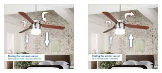 ceiling fans for summer winter
