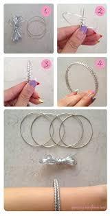 DIY Craft Lace Bangle