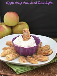 Apple Crisp Fries Fooddonelight Applerecipe Appledessert Appledip Creamcheesedip