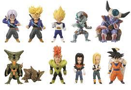 Dragon Ball Z Pumpkin Carving Templates by Dragon Ball Z Cell Saga Wcf Cell Saga 2 5 Blind Box 15 Packs