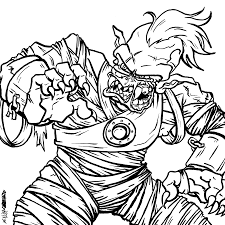 Download Coloring Pages Zombie Printable Designs 28454 Thecoloringpage Online