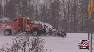 100 Trucks In Snow High Accumulation Drifting Snow Challenge Plow Drivers Efforts
