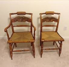 Ethan Allen Hitchcock Chairs American Eagle W. Woven Rush ... Reupholstering A Chair The Saga Part I Stonegable Metal Rocking Chairs One Off Chair Design India Cafojapuqetop Set Of 4 Vintage Ethan Allen Chairs This Set Includes Wildkin Royal Features Removable Plush Cushions And Gilded Tassels Perfect For The Little Princess In Your Life White Fniture Update Decor With Cheap For Accent Millionaires Daughter Enchanting Top Collection Berwick British Colonial Style Caned Lounge Balta Seagrass Armchair Ottoman Pillow Ethan Allen Set Of 2 Wicker Rocker Nsignfniturenowcom Home