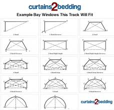 Ceiling Mount Curtain Track Amazon by C2b 500cm 196
