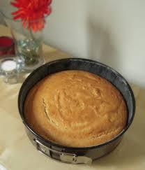 Jyoti s Pages Eggless Vanilla Sponge Cake using Yogurt