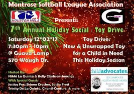 annual holiday social toy drive guava l houston 2 december