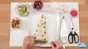 Rice Krispie Christmas Tree Pops by How To Make A Christmas Tree Rice Krispies Treat Youtube