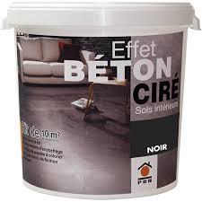 enduit beton cire exterieur béton à effet ciré gris smoke prb 10m leroy merlin