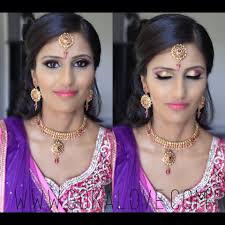 Makeup Hair and Dupatta setting for an Indian Wedding Boston