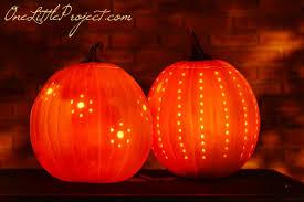 Pumpkin Carving Drill by Halloween Ideas Easy Drilled Pumpkins