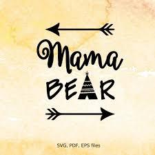 Papa Bear Design Clipart