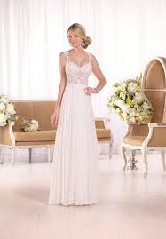 Simple and stunning this designer wedding gown from Essense and